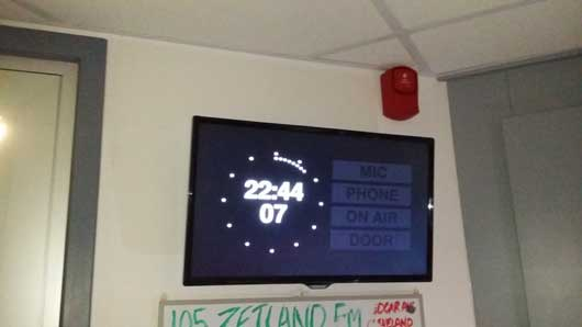 Studio-Clock-Display